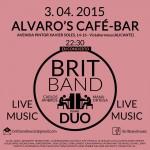 Brit Band en Alvaros Café Alicante
