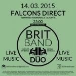 Brit Band en Falcons Alicante