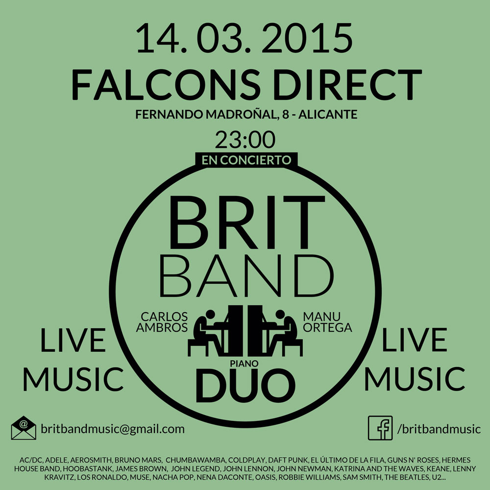 Brit Band en Falcons Alicante