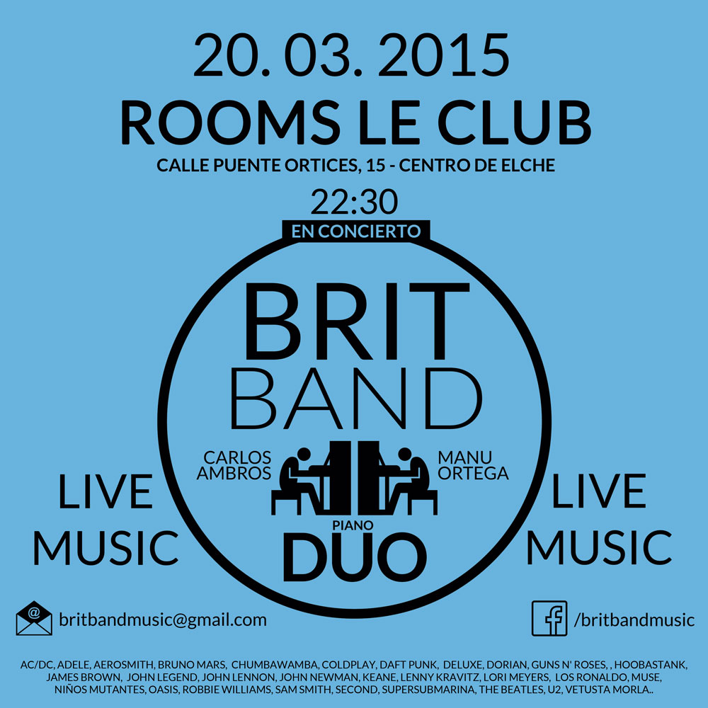 Rooms Le Club Elche concierto